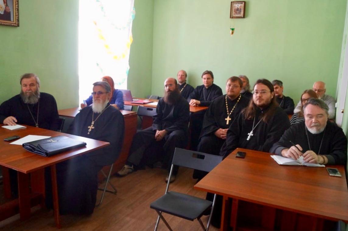 Братское совещание духовенства Малинского благочиния
