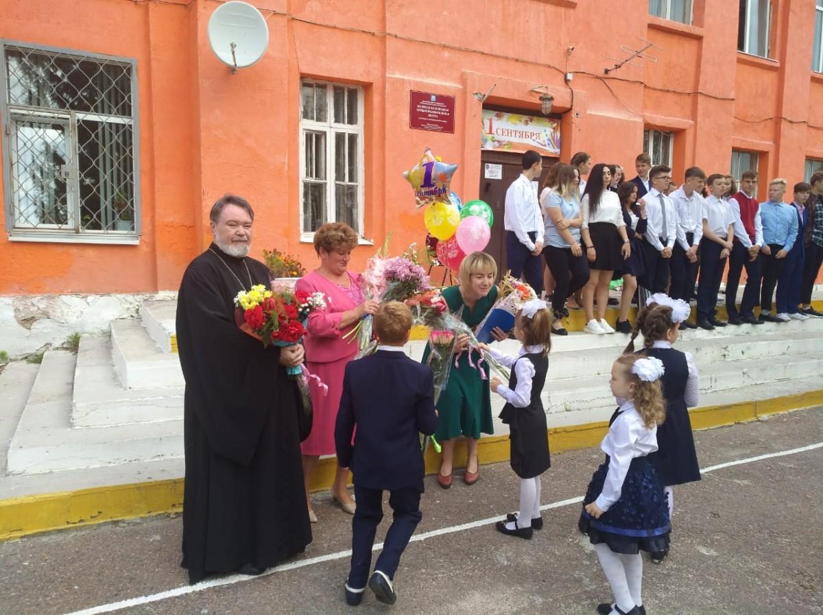 День знаний в Малинской школе