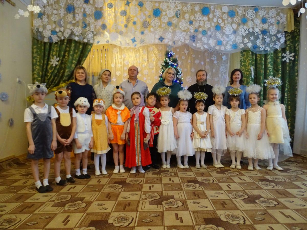 Рождество Христово в детском саду «Цветик-семицветик» пос. Михнево
