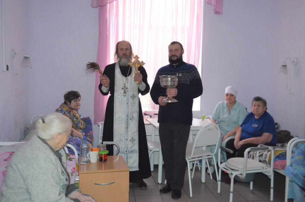 Крещение Господне в Центре социального обслуживания села Липитино