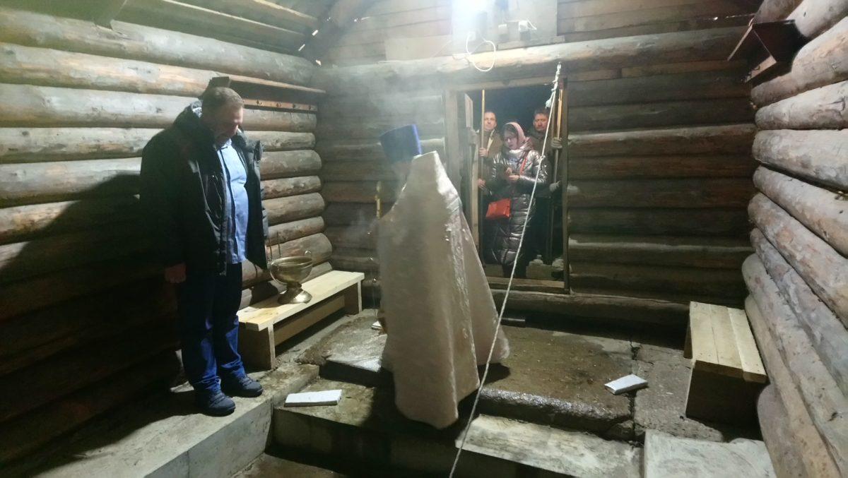Крещение Господне в селе Авдотьино