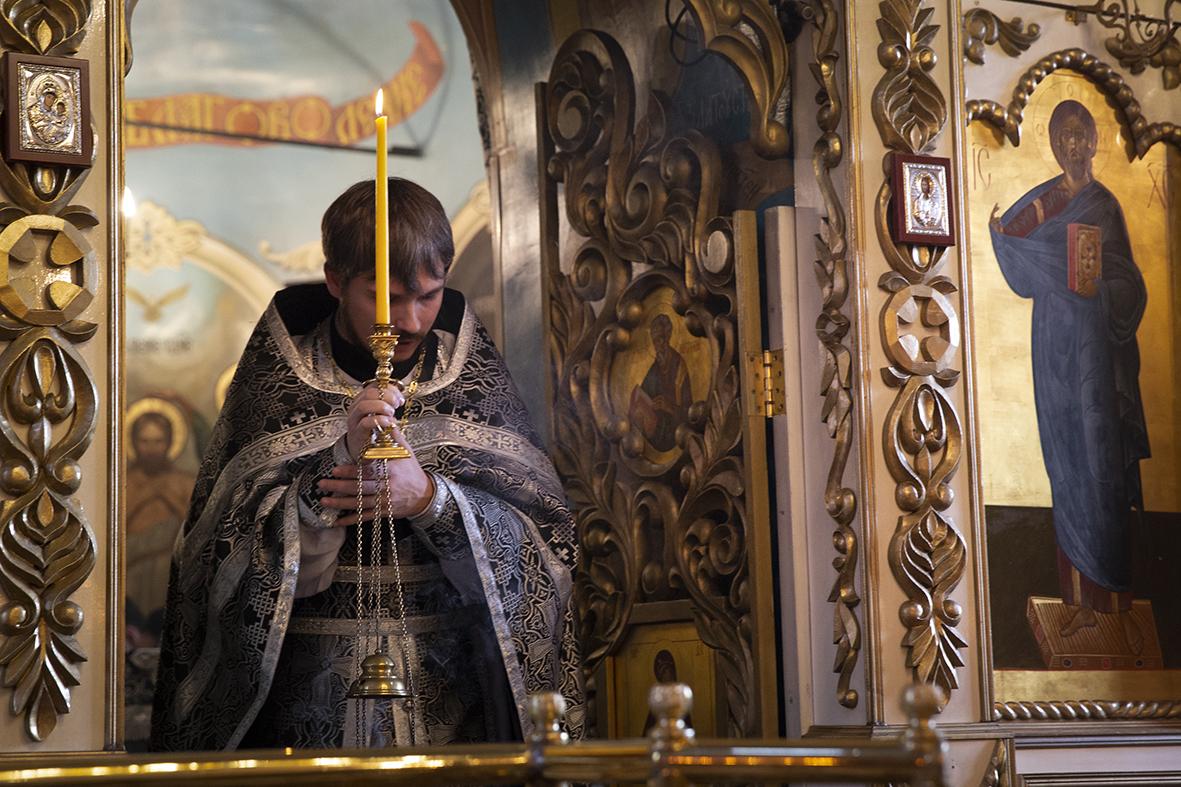 Литургия Преждеосвященных Даров в Иван-Теремце